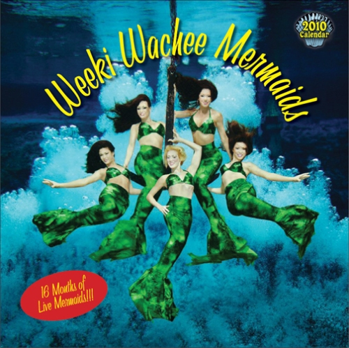 Weeki Wachee Mermaids Calendar
